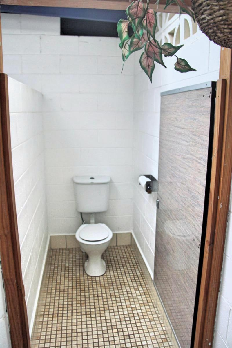 Clean Toilet at Waves Campground, Delicate Nobby, NSW