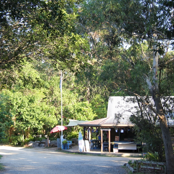 Waves Campground Reception, fantastic bush camping near crescent head