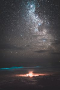 Milky way at Delicate Nobby beach
